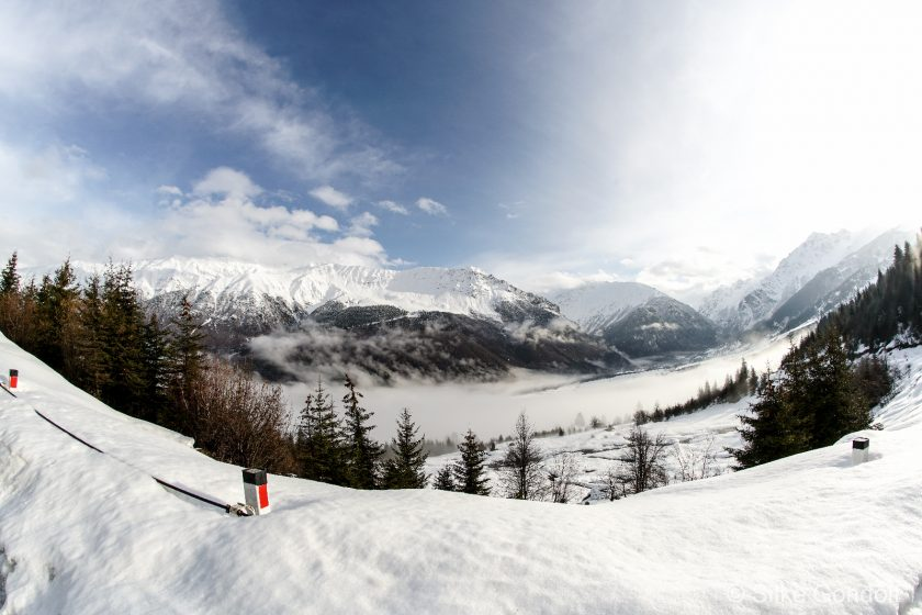 Georgias North Kaukasus in March